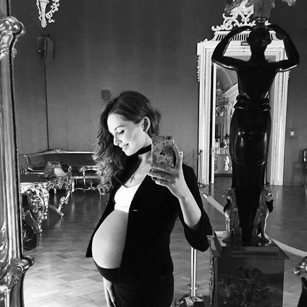 беременные балерины
